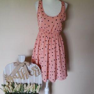 Francescas blush dress size medium